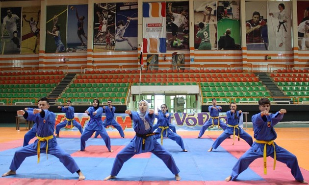 Vietnamese martial arts promoted in Egypt