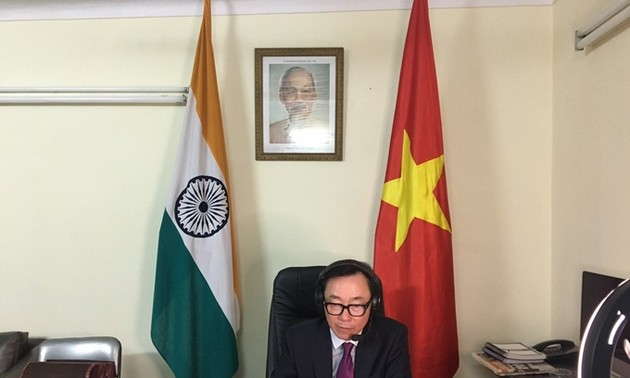 Vietnam, India have huge potential for cooperation in textiles, medical equipment