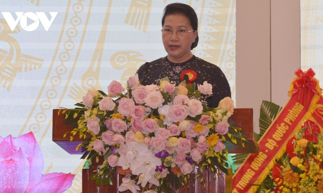 NA Chairwoman attends patriotic emulation congress of judicial sector