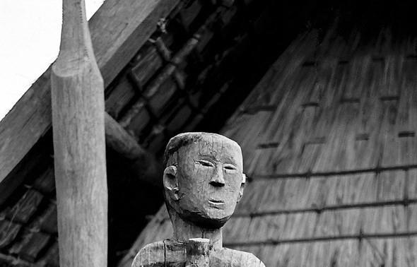 Central Highlands art of wooden sculptures