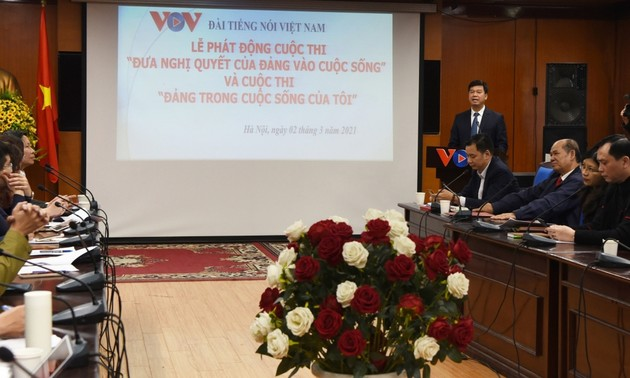 VOV launches contest on bringing the Party resolution to life