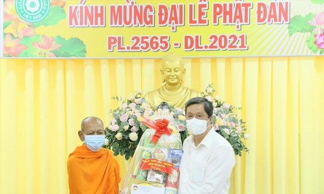 Celebrations of Buddha's birthday adhere to COVID-19 safety measures