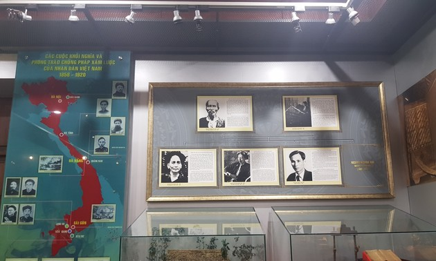 Nha Rong Harbor, Ho Chi Minh Museum tell about the great leader's life, career