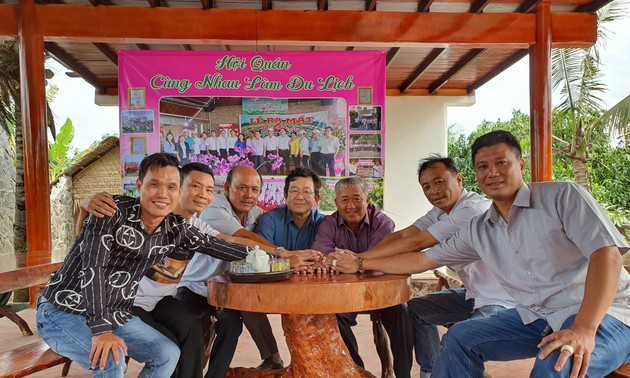 Dong Thap agricultural clubhouse promotes local tourism