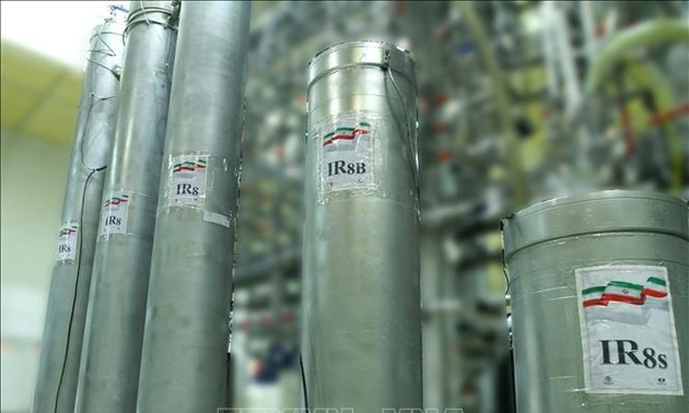 Iran insists nuclear program peaceful after IAEA reports uranium enrichment jump