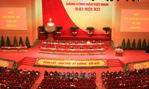 Ausländische Medien und Experten bezeichnet den 12. Parteitag als eine wichtige Wende Vietnams