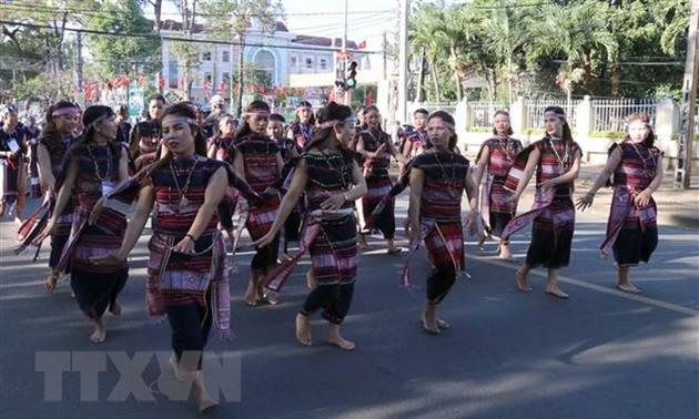Abschluss des Gong-Festival Tay Nguyen 2018