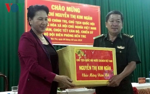 Neujahrsfest: Parlamentspräsidentin Nguyen Thi Kim Ngan besucht Provinz Ben Tre