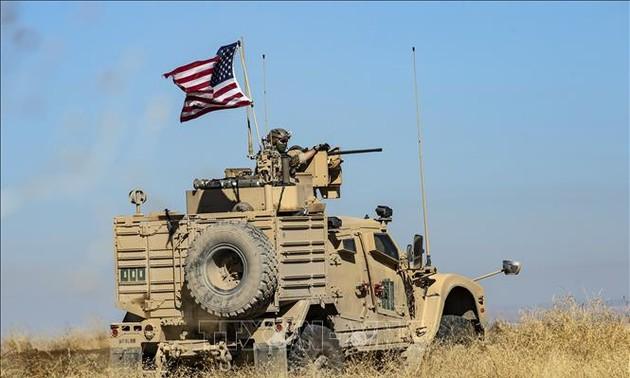 USA setzen militärische Ausrüstungen in Syrien und im Irak wieder ein