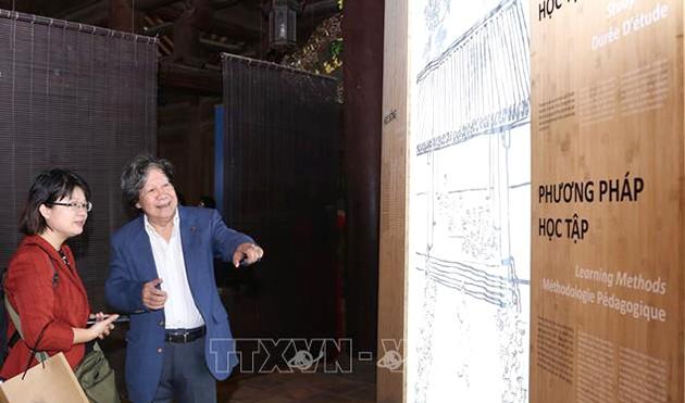 Hanoi: Sonderausstellung über Lehrer Chu Van An