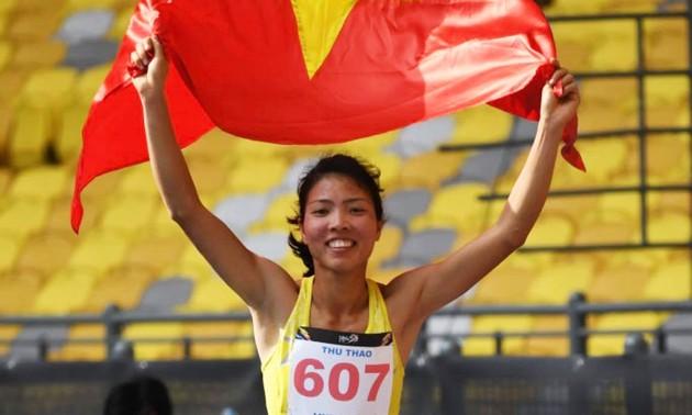 """""""Goldene Frau"""" der vietnamesischen Leichtathletik bemüht sich um Goldmedaille bei Sea Games 31"""
