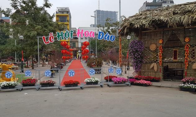 Blumendörfer vor dem Neujahrsfest Tet