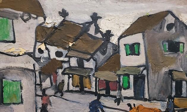 Auktion der Gemälde des Malers Bui Xuan Phai
