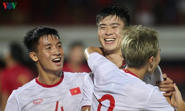 World Cup qualifier: Vietnam beat Indonesia, moving up to 2nd place in Group G