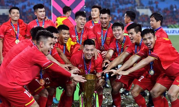 Vietnam wins big at regional football awards