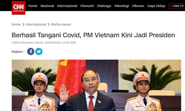 Indonesian media hail Vietnam's new leadership