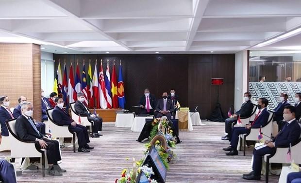 ASEAN leaders urge immediate cessation of violence in Myanmar