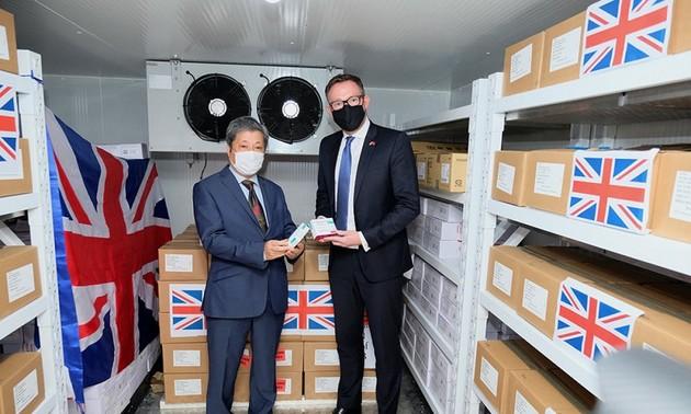 UK donates additional 415,000 COVID-19 vaccine doses to Vietnam