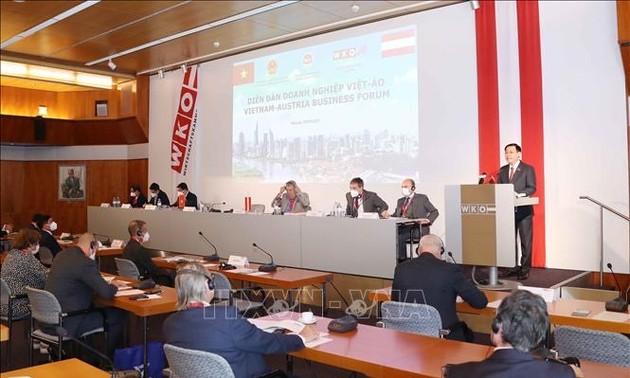 Top legislator calls on Austrian firms to invest more in Vietnam