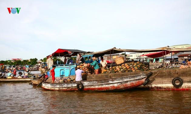 อนุรักษ์ตลาดน้ำก๊ายรัง ไฮไลท์การท่องเที่ยวของเมืองเกิ่นเทอ