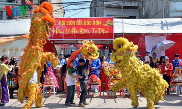 Ta Phu-Ky Lua Temple festival in Lang Son