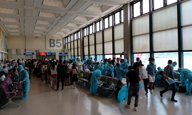 Vietnamesen aus Taiwan (China) nach Vietnam gebracht
