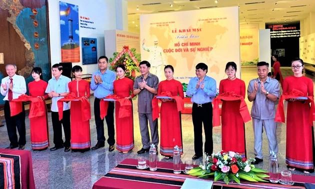 Eröffnung der Ausstellung über Leben und Karriere von Ho Chi Minh