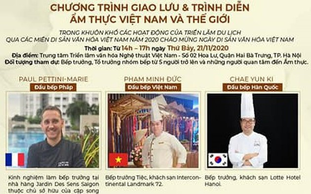 Kulinarische Vorstellung aus Vietnam und der Welt
