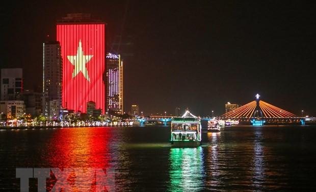 Danang ist eine der fünf hervorragenden Städte in der asiatisch-pazifischen Region