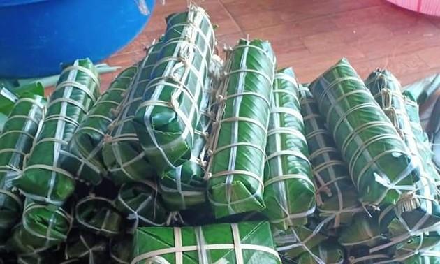 Muong Va mit Klebreis als Spezialität