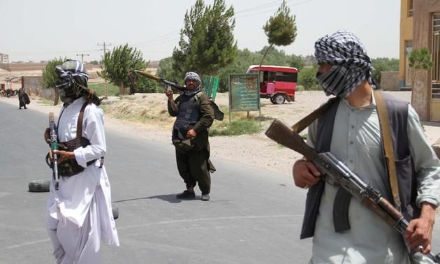 Unruhe in Afghanistan nach Rückzug der US-Soldaten und der Verbündeten