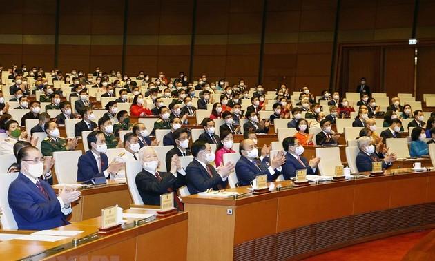 15. Legislaturperiode: Effiziente Aktivitäten für Entwicklung