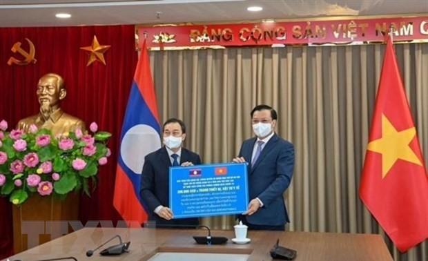 Hanoi und Vientiane wollen Zusammenarbeit in vielen Bereichen