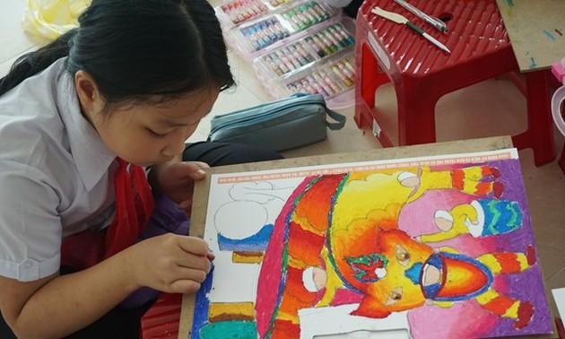 """Wettbewerb """"Tagebücher in Bildern der asiatischen Kinder Enikki Mitsubishi"""""""