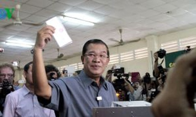 Cambodia: Preliminary result of National Assembly election