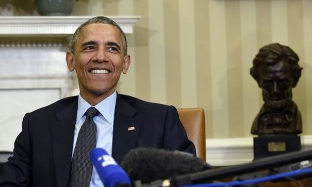 US Congress grants President Obama fast track trade authority