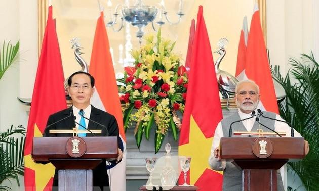 Presidente vietnamita concluye sus visitas oficiales a India y Bangladesh
