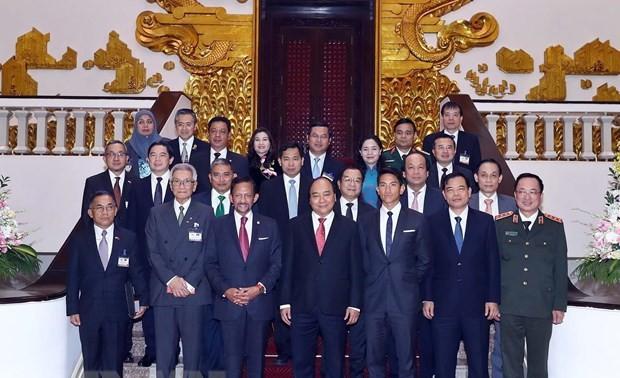 Sultán bruneano concluye con éxito su visita oficial a Vietnam