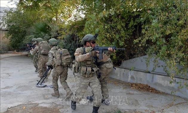 Turquía amenaza con seguir atacando milicias kurdas en Siria