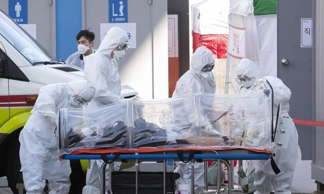 Países del mundo tratan de detener la epidemia de Covid-19
