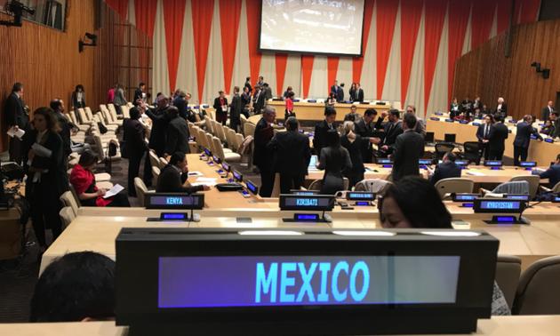 México como miembro no permanente del Consejo de Seguridad de la ONU