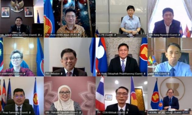 Vietnam pide a China continuar apoyando la Iniciativa para la Integración de la Asean