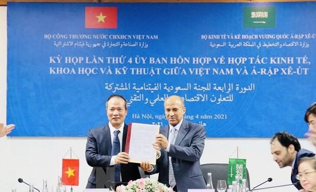 Celebran IV Reunión del Comité Mixto de Cooperación Económica, Científica y Técnica Vietnam-Arabia Saudita