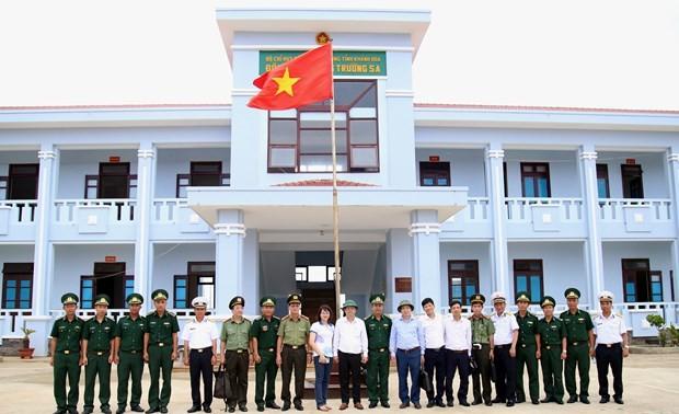 Inspeccionan preparativos para elecciones parlamentarias en distrito insular vietnamita de Truong Sa
