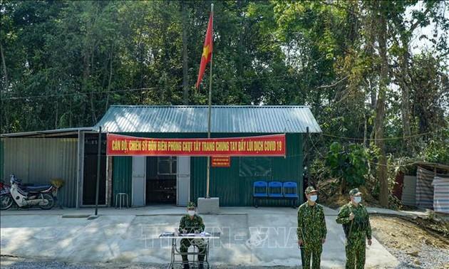 Ejército vietnamita refuerza el control en las fronteras para impedir la entrada del covid-19