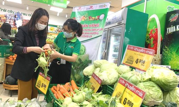 Empresas vietnamitas superan las dificultades causadas por la pandemia de covid-19  