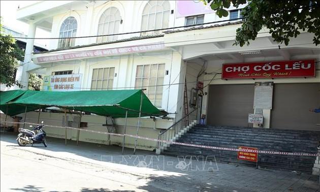Localidades vietnamitas refuerzan las medidas anticovid-19
