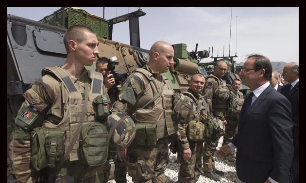 Francia retirará tropas de Afganistán en 2012
