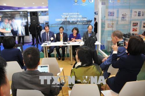 Vietnam vows to combat illegal fishing