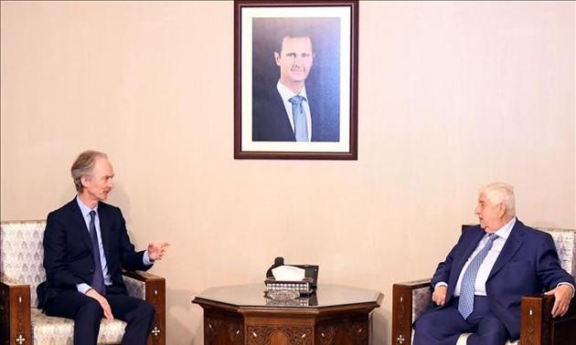 L'émissaire de l'ONU en Syrie pour relancer le «règlement politique» du conflit